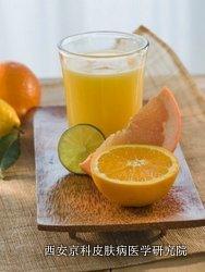 得了牛皮癣可以吃橘子吗